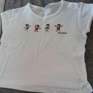 familiar - ファミリア Tシャツ90
