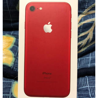 Apple - iPhone7 RED 128GB 残債なし☆美品