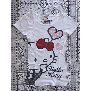 ハローキティ(ハローキティ)の❋引っ越しセール❋ Hello Kitty Tシャツ(ルームウェア)