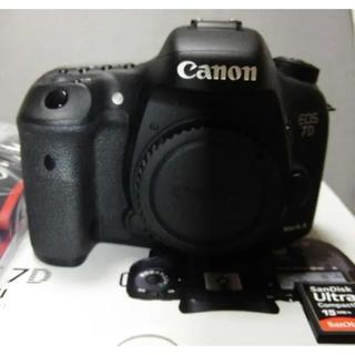 Canon - キャノン EOS - 7D mark 2 新品同様 8G のCF ガード付き