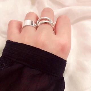 トゥデイフル(TODAYFUL)のシルバー925 トリップリング silver925 リング(リング(指輪))