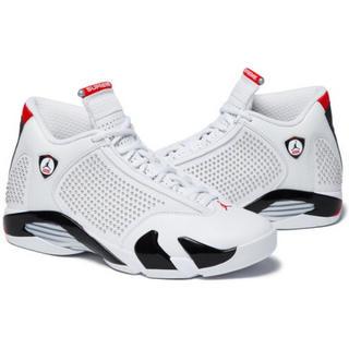 Supreme - Air Jordan 14 Supreme 27 white