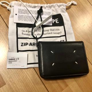 マルタンマルジェラ(Maison Martin Margiela)の新品100%本物 Maison Margiela コンパクト 財布 (折り財布)