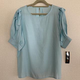 シマムラ(しまむら)のしまむら 肩リボントップス(シャツ/ブラウス(半袖/袖なし))