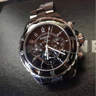 シャネル(CHANEL)の【CHANEL】腕時計クロノグラフ H0940 AT 41mm セラミック (腕時計(アナログ))