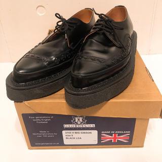 ジョージコックス(GEORGE COX)のGeorge Cox ラバーソール3705V M/G GIBSON サイズ(ローファー/革靴)