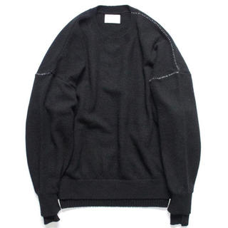 SUNSEA - stein 18aw OVERSIZED DOUBLE KNIT LS