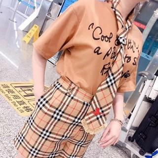 バーバリー(BURBERRY)のburberryTシャツ・ショートパンツ・ネクタイセット(ミニスカート)