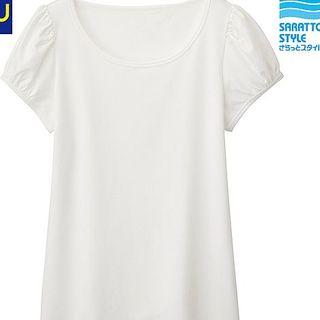 ジーユー(GU)のちゃき様専用ジーユー パフスリーブTシャツ(Tシャツ(半袖/袖なし))