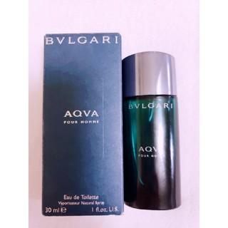 ブルガリ(BVLGARI)のBVLGARI AQVA アクア プールオム 香水 箱付き(香水(男性用))