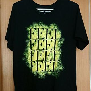 マウジー(moussy)の安室奈美恵tシャツ FEEL(Tシャツ/カットソー(半袖/袖なし))