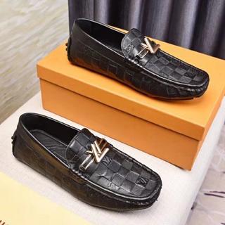 ルイヴィトン(LOUIS VUITTON)の大人気 LOUIS VUITTON ルイヴィトン メンズ 靴 39(ドレス/ビジネス)