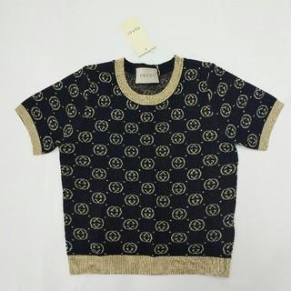 Gucci - グッチ Gucci レディース ニットTシャツ 夏コーデ ファッション