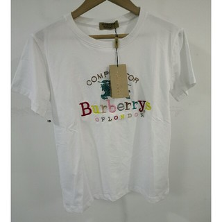 バーバリー(BURBERRY)のBurberryバーバリー T-シャツ 虹ロゴ 可愛い 正規品 (Tシャツ(半袖/袖なし))