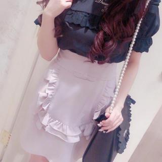 アンクルージュ(Ank Rouge)のAnkRouge エプロンスカート(ミニスカート)