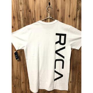 ルーカ(RVCA)のLサイズ ⭐︎ RVCA ルーカ new world ロゴTシャツ バックロゴ(Tシャツ/カットソー(半袖/袖なし))