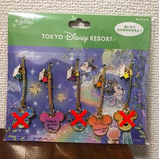 Disney - バラ売り ディズニーランド ディズニーシー 七夕Days2019 ストラップ
