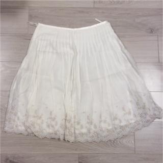 ヨンドシー(4℃)のフレアスカート(ひざ丈スカート)