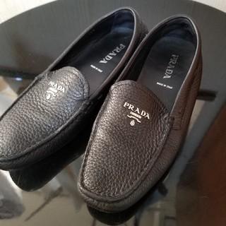 プラダ(PRADA)のPRADA  ローファー サフィアーノ(ローファー/革靴)