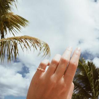 【2号】Hawaiian Flower Ring《PGD》1980001(リング(指輪))