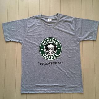新品未使用 ★ スタバ風 ベトナムコーヒー Tシャツ(Tシャツ/カットソー(半袖/袖なし))