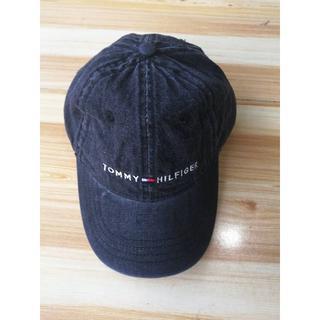 トミーヒルフィガー(TOMMY HILFIGER)の新品 トミーヒルフィガー 帽子 キャップ 野球帽 デニム Denim(キャップ)