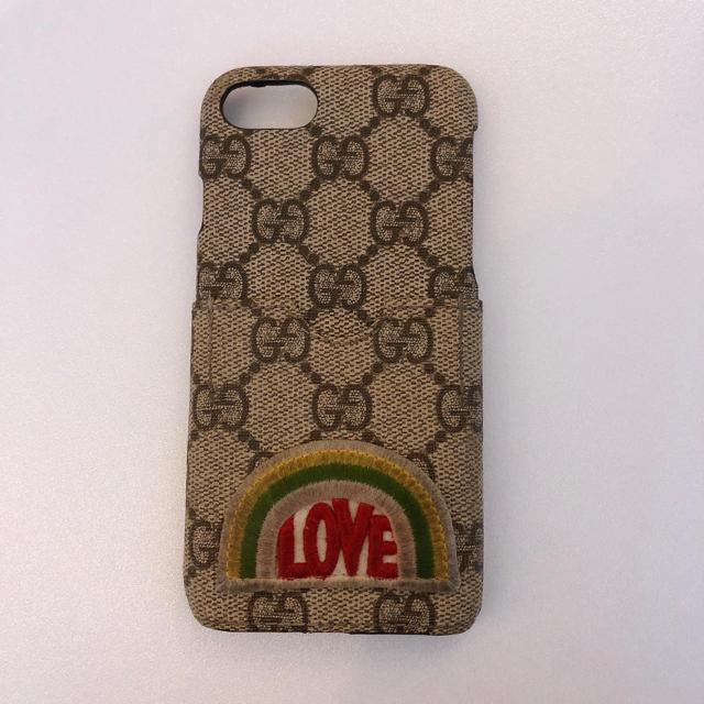 Gucci - GUCCI iPhoneケース 7、8 正規品 中古の通販