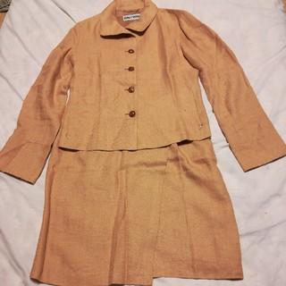 イッセイミヤケ(ISSEY MIYAKE)のイッセーミヤケ麻と絹混合スーツ(スーツ)