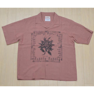 RADIALL - RADIALL CHICANO ROSE-OPEN COLLARED SHIRT