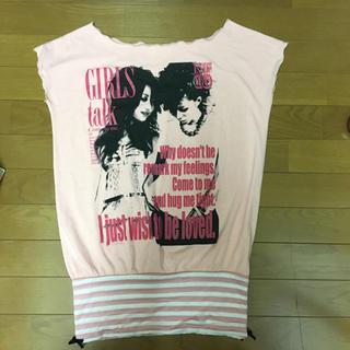 リズリサ(LIZ LISA)のLIZLISA 限定 オフショルTシャツ(Tシャツ(半袖/袖なし))