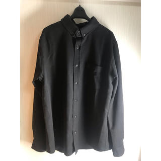 オックスフォード シャツ 黒