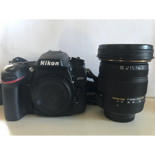 Nikon - 一眼レフカメラNikonD7100&レンズ sigma17-50mm f2.8