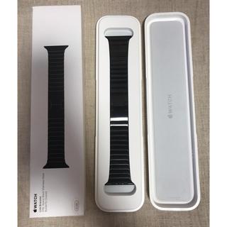Apple Watch - [純正品]AppleWatch42mmケース用スペースブラックリンクブレスレット