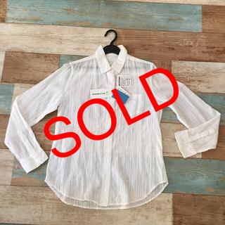 ベルメゾン(ベルメゾン)のコットンシャツ     Mサイズ  (シャツ/ブラウス(長袖/七分))