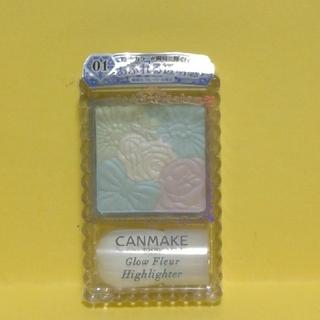CANMAKE - 新品 キャンメイク グロウフルールハイライター 01
