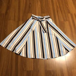 ジャスグリッティー(JUSGLITTY)のJUSGLITTY 膝丈上品スカート 定価17280円 サイズ1(ひざ丈スカート)