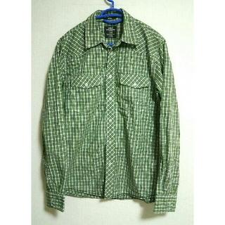 エイチアンドエム(H&M)のLOGG H&M  長袖 メンズシャツ サイズM(シャツ)