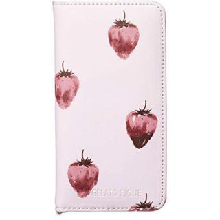 ジェラートピケ(gelato pique)のiPhone ケース * ストロベリー(iPhoneケース)