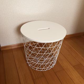 イケア(IKEA)のIKEA・KVISTBRO/イケア・クヴィストブロー 収納付きテーブル(コーヒーテーブル/サイドテーブル)