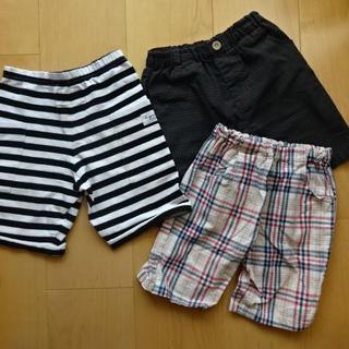 アニエスベー(agnes b.)の●男の子 夏用半ズボン 110cm 3枚まとめてセット(パンツ/スパッツ)