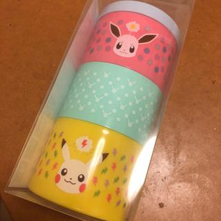 ポケモン - イーブイ ピカチュウ 3段お弁当箱