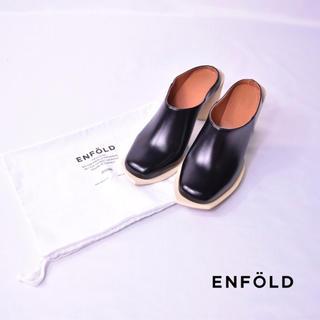 エンフォルド(ENFOLD)のENFOLD エンフォルド パンプス ブーティ サンダル 巾着袋付き 18ss(サンダル)
