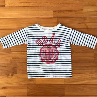 エィス(A)の★A エィス ボーダー七分袖Tシャツ 90(Tシャツ/カットソー)