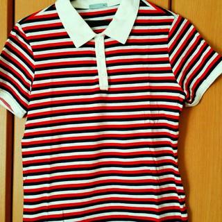 ジーユー(GU)のボーダーシャツ!(シャツ/ブラウス(半袖/袖なし))