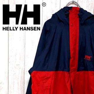 ヘリーハンセン(HELLY HANSEN)のヘリーハンセン マウンテンパーカー パッカブル ヴィンテージ 90's(マウンテンパーカー)