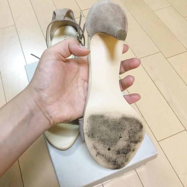 Odette e Odile(オデットエオディール)のオデッドエオディール グレージュ サンダル 美品 レディースの靴/シューズ(サンダル)の商品写真