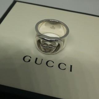 グッチ(Gucci)のGUCCI インター ロッキング リング 12号表記(リング(指輪))