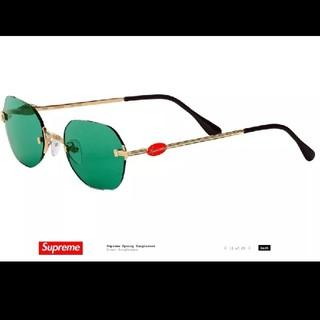 シュプリーム(Supreme)の新品正規品19SS Supreme River Sunglasses Green(サングラス/メガネ)