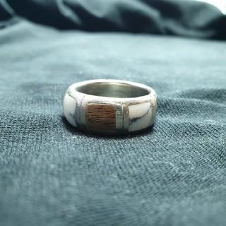 22号 シルバーリング シルバー925 ジャンク品(リング(指輪))