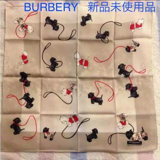 バーバリー(BURBERRY)のバーバリースカーフ ハンカチ(バンダナ/スカーフ)